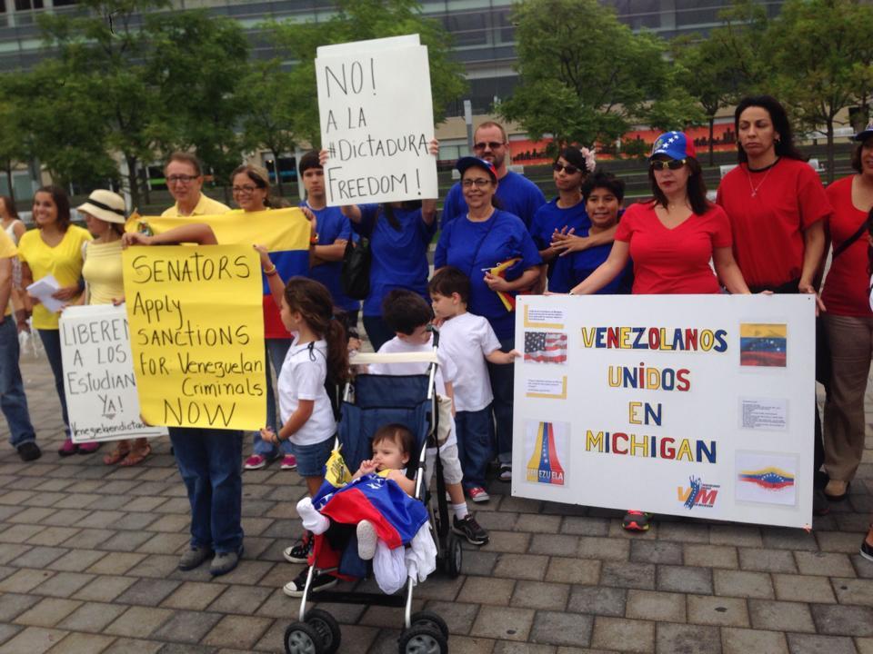 Venezolanos unidos en Michigan