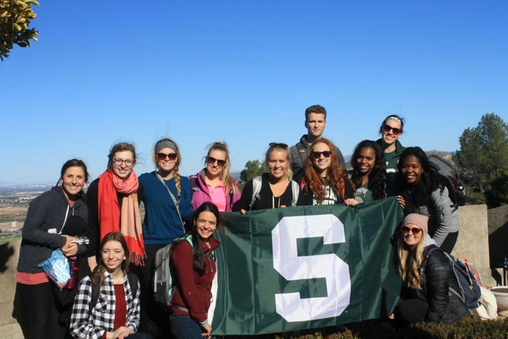 MSU Students Abroad - PJS Student Christina Igl
